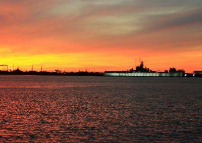 Gulf-Coeast-Fishing-ChartersSunset-Mobile-Bay-Battleship